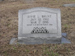Effie L Brunt