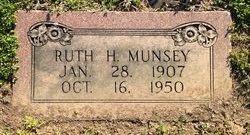 Ruth H Munsey