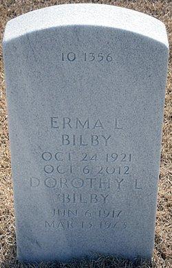 Erma Louise <I>Coston</I> Bilby