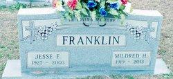 Mildred Evelyn <I>Hopkins</I> Franklin