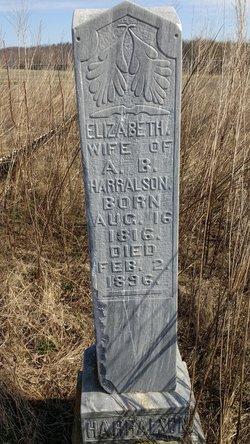 Elizabeth M  A  Bailey Harralson (1816-1896) - Find A Grave