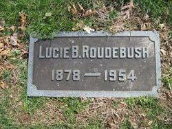 Lucy Shinkle <I>Bowman</I> Roudebush