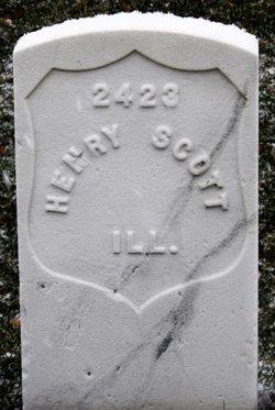 PVT Henry Scott