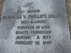 Blanche V <I>Phillips</I> Denton