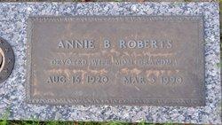 Mrs Annie Lou <I>Balkcom</I> Roberts