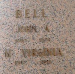 M Virginia Bell