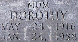Dorothy Mae <I>Mullin</I> Asher