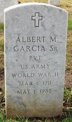 Albert M Garcia, Sr