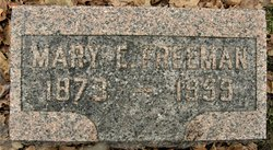 Mary Emma <I>Sheets</I> Freeman