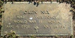 Oren Nix