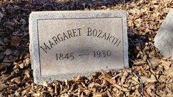 Margaret W <I>Shinn</I> Bozarth
