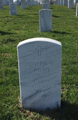 Joseph M Crowe