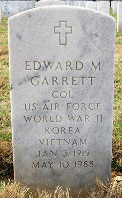 Edward M Garrett