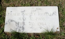 Eulalie <I>Salley</I> Rutledge