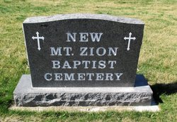 New Mount Zion Colored Church Cemetery
