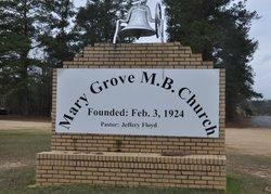 Mary Grove Baptist Church Cemetery