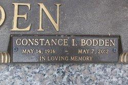 Constance Irene <I>Hydes</I> Bodden