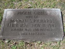 Phoebe Sara <I>Gibbes</I> Richards