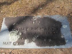 Rev John Edwards Richards
