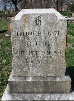 Rev Frederick Hunze