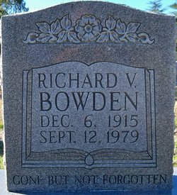 Richard V Bowden, Sr