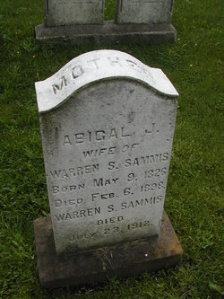 Abigail Jane <I>Judson</I> Sammis