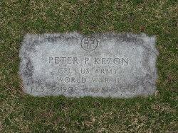 CPL Peter P. Kezon