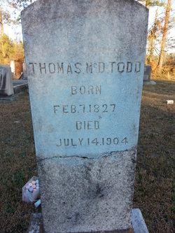 Thomas McDaniel Todd