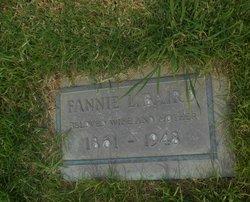 Fannie L. <I>Shaw</I> Baird