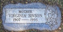 Virginia <I>Bongivonni</I> Sinson