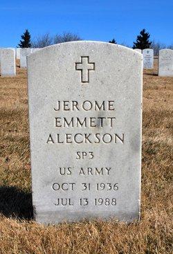 Jerome Emmett Aleckson