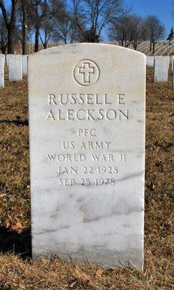 Russell E Aleckson