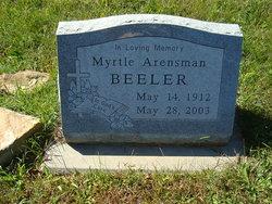 Myrtle <I>Arensman</I> Beeler