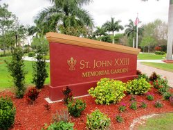 Saint John XXIII Memorial Garden