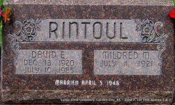 "Mildred Marie ""Millie"" <I>Heinemann</I> Rintoul"