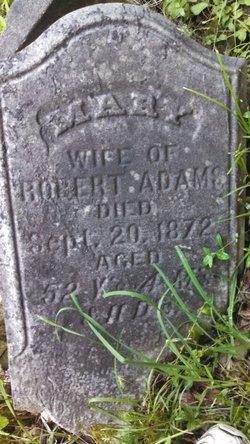 Mary <I>Shartle</I> Adams