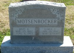 Mary N Motsenbocker