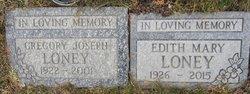 Edith Mary <I>Oldach</I> Loney