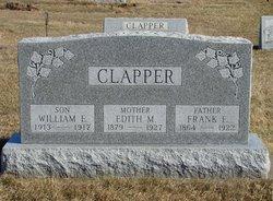 Edith M <I>Tate</I> Clapper