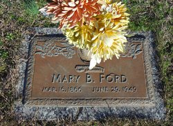 Mary Adelia <I>Barrett</I> Ford
