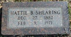 Hattie B. Shearing