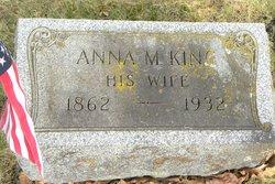 Anna M <I>King</I> Shrauder