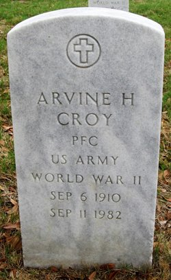 Arvine H Croy