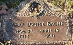 "Mary Louise ""Louise"" <I>Griffith</I> Bache"