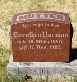 Dorothea Norman Mutter