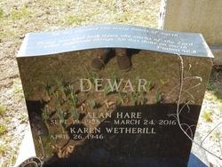 Alan Hare Dewar