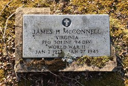 Pvt James H McConnell