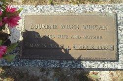 """Lourene """"Lou"""" <I>Wilks</I> Duncan"""
