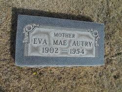 Eva Mae <I>Carter</I> Autry