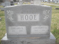 Garland Hurst Hooe, Sr